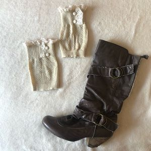 Grace and Lace Boot Cuffs